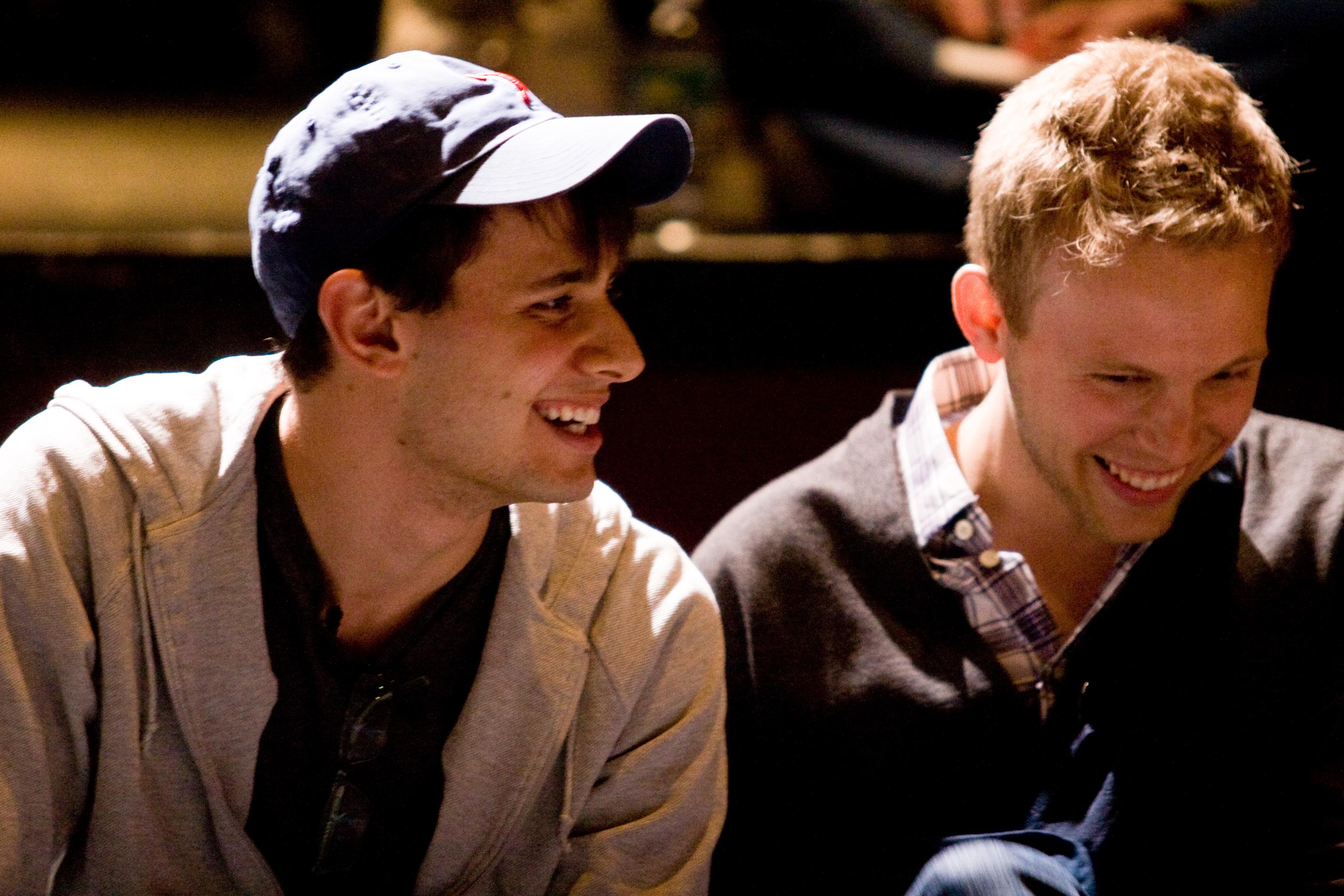 Composers Benj Pasek and Justin Paul