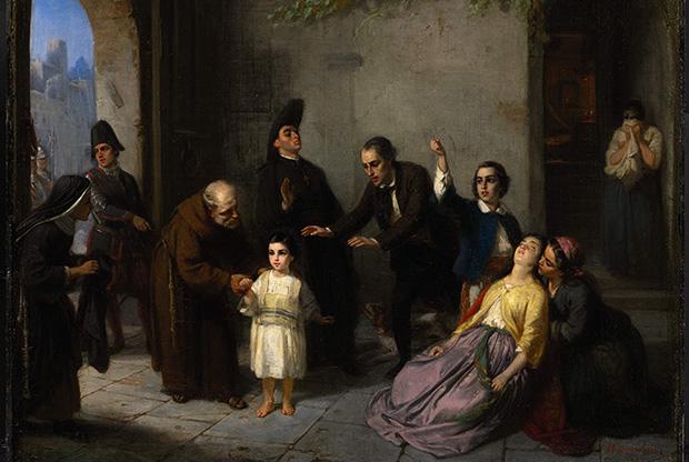 Oppenheim_-_Kidnapping_of_Edgardo_Mortara_-_1862